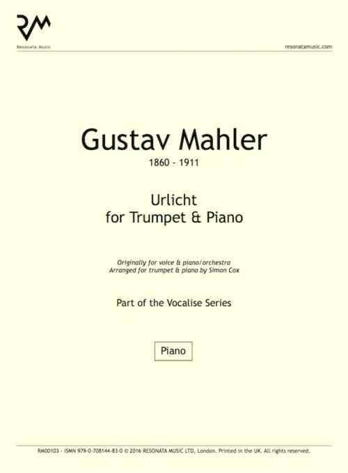 Mahler - Urlicht inner cover