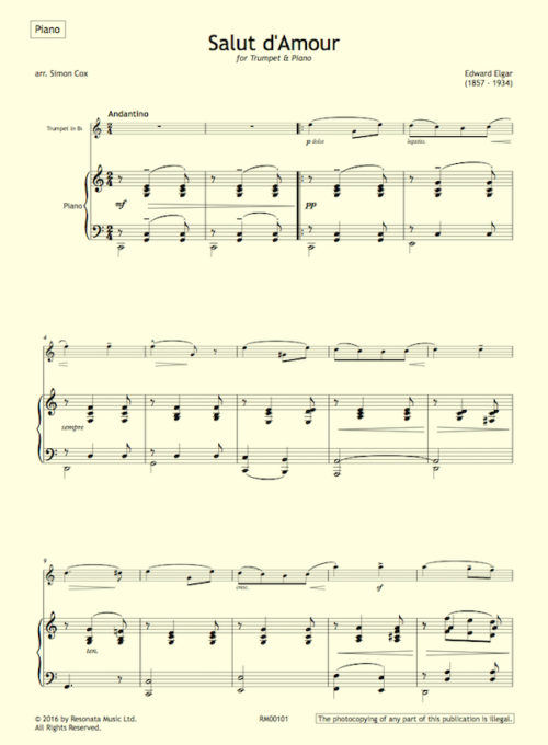 elgar-salut-first-page