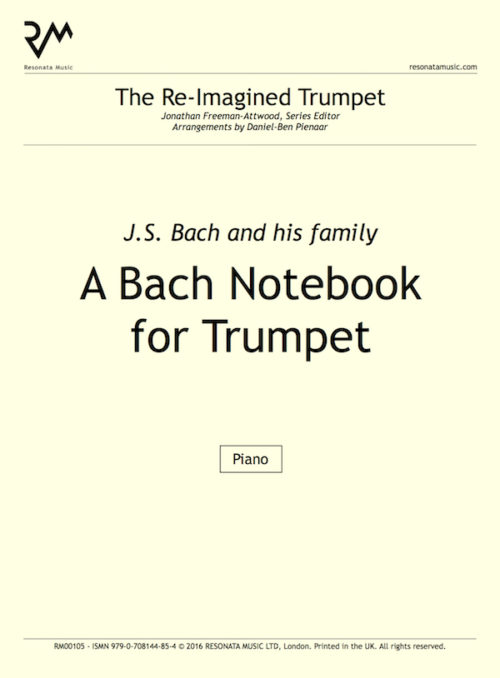 A Bach Notebook title page