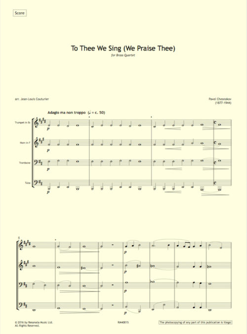chesnokov-to-thee-quartet-first-page