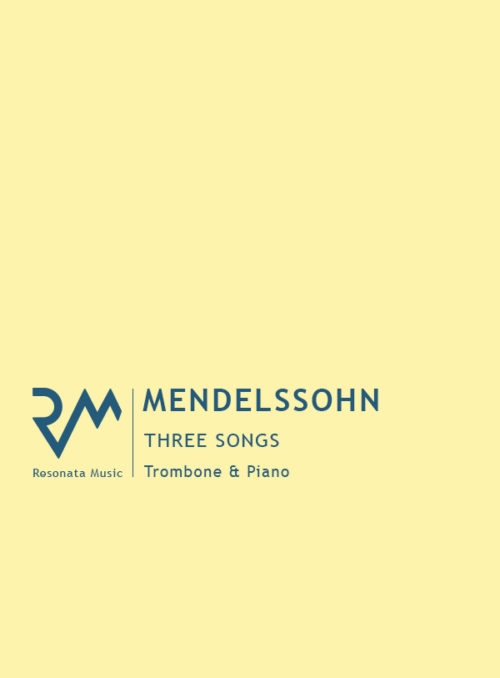 Mendelssoh - 3 Songs trom cover