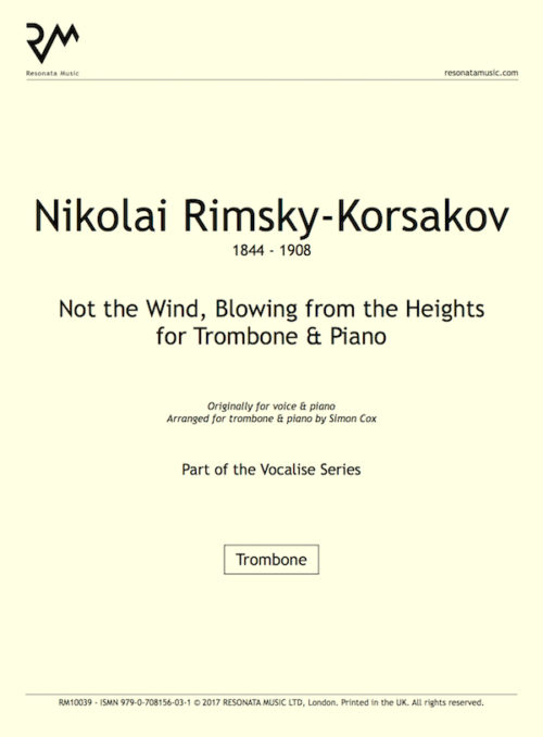 RK - Not the wind trombone title page
