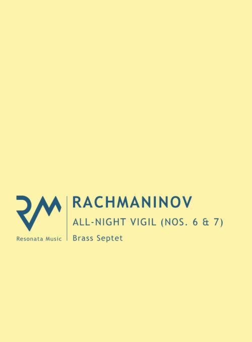 Rachmaninov - Vigil cover