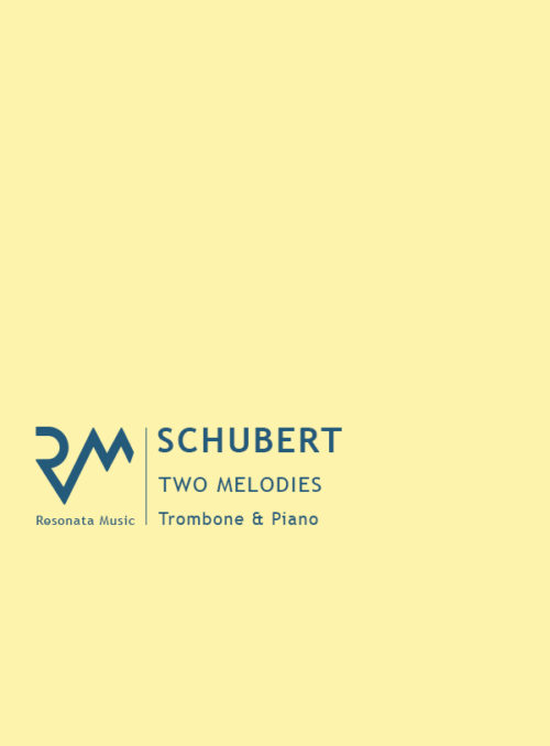 Schubert - Melodies trom cover