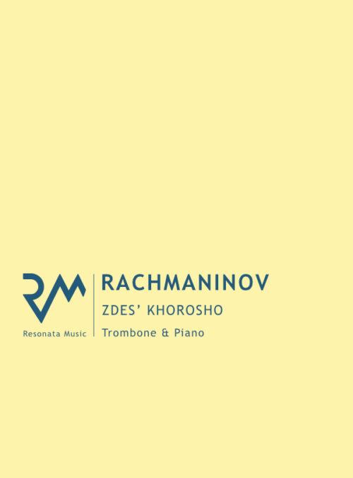Rachmaninov- Zdes trom cover