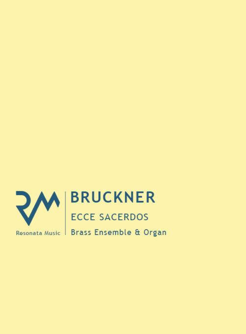 Bruckner - Ecce cover