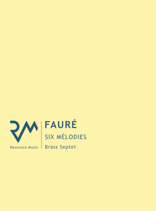 Faure - Melodies cover