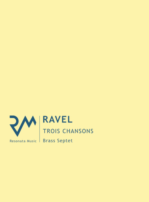 Ravel – Trois Chansons cover