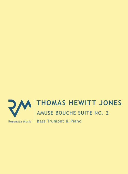 Hewitt Jones – Amuse Bouche 2 Bass Tpt cover