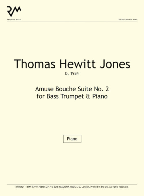 Hewitt Jones-Amuse Bouch Suite No. 2BT-inner cover