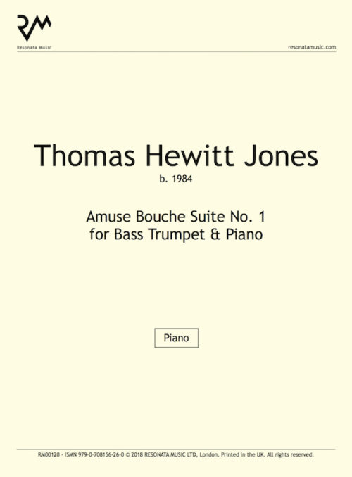 Hewitt Jones-Amuse Bouche 1 Bass Tpt inner cover