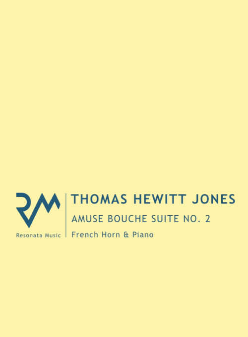 Hewitt Jones - Amuse Bouche FH cover