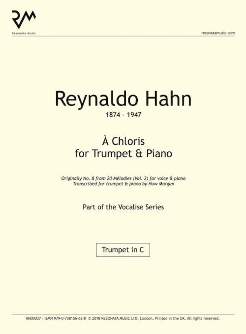 Hahn – Chloris Tpt inner cover