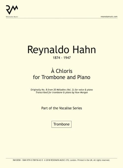 Hahn - A Chloris Tbn InnerCover