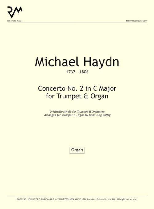 M Haydn inner cover
