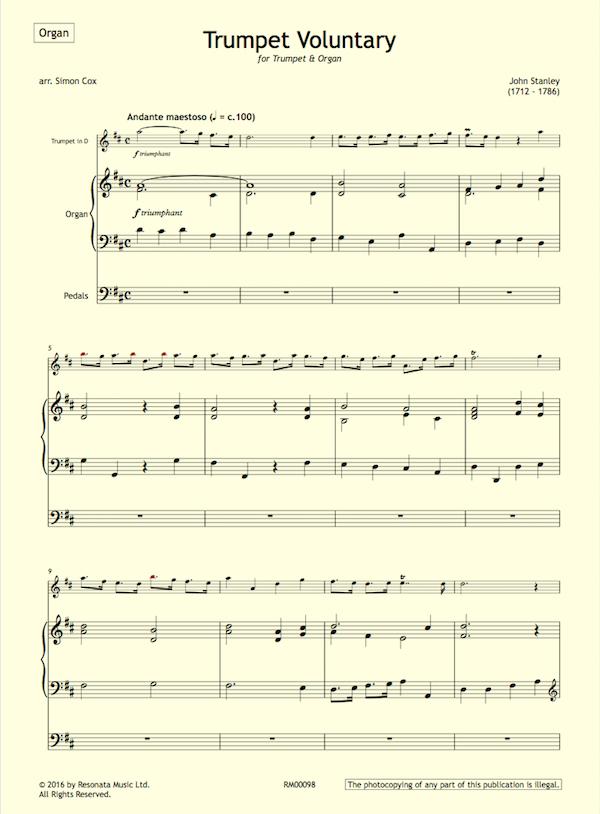 Brass Quintet and Organ