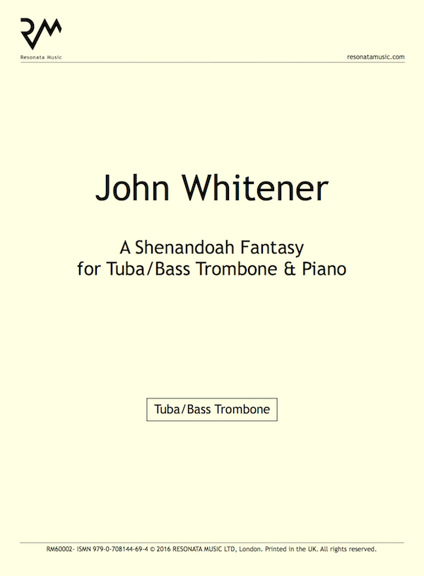 Lyric shenandoah lyrics : Whitener – A Shenandoah Fantasy for Tuba/Bass Trombone & Piano ...
